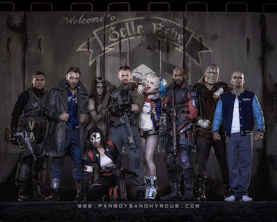 Task Force X cast Suicide Squad movie costumes