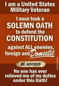 Are you still under the Oath?