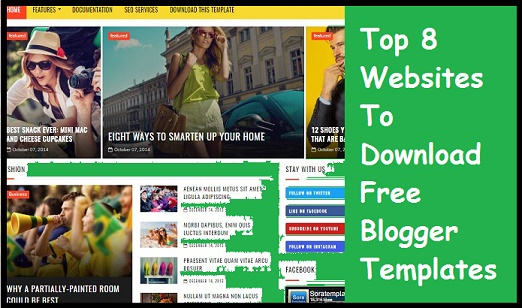 Blog Ke Liye Free Template Download Karne Ki Top 8 Website