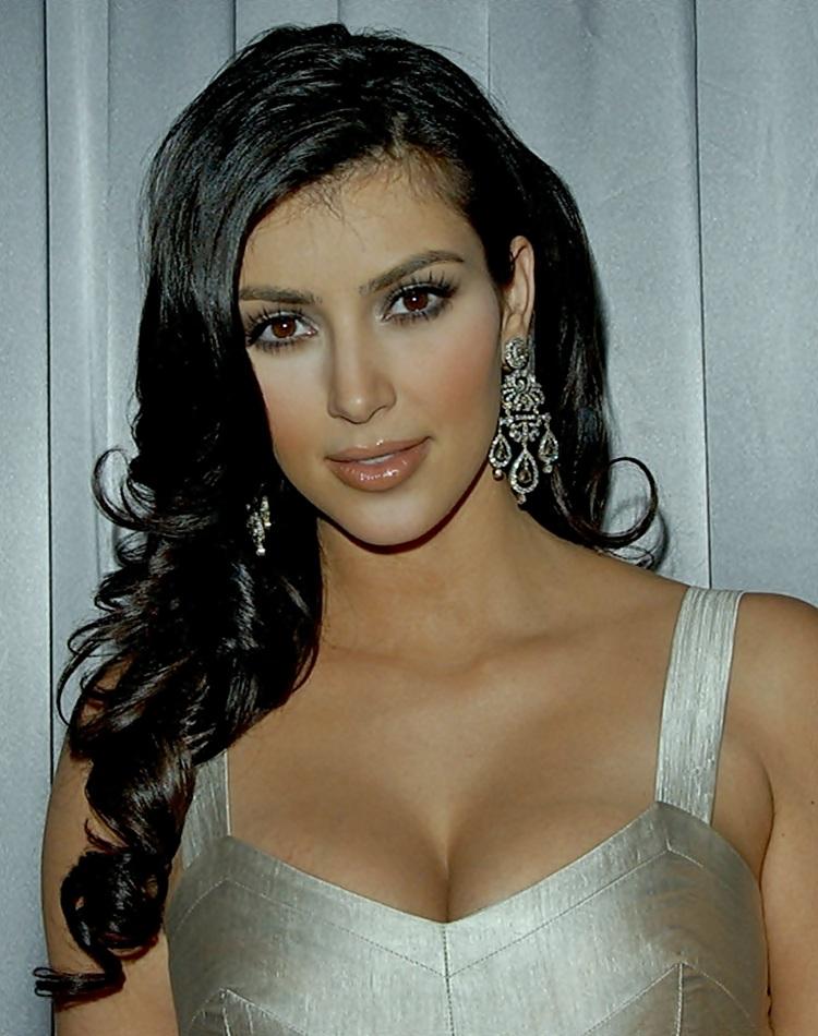 Kim Kardashian Hairstyles Blondelacquer