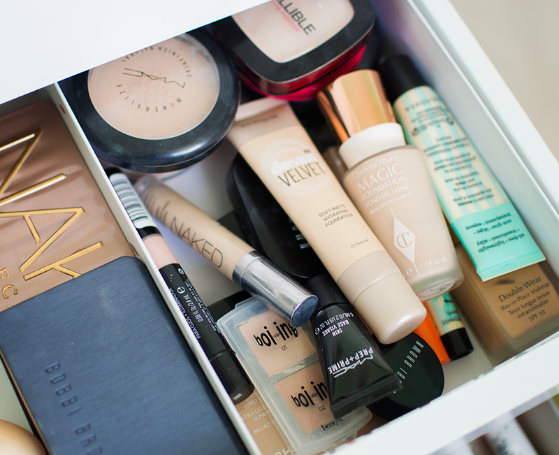 BEAUTY: MY MAKEUP STORAGE