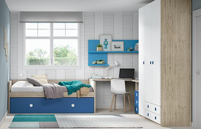 Dormitorio infantil nido 1392 - Dormitorios infantiles valencia ...