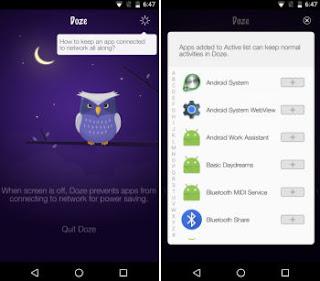 ottimizzazione batteria android