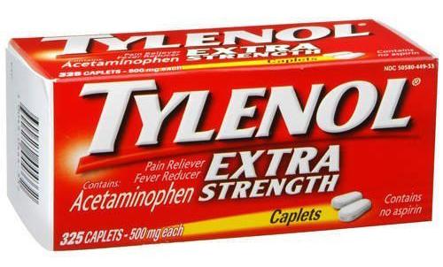 سعر ودواعى إستعمال أقراص تايلينول Tylenol مسكن للالم