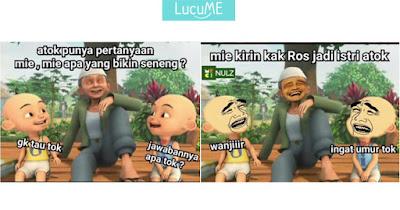 10 Meme 'Upin Ipin' Ini Bikin Adem Hubungan Indonesia - Malaysia yang Sering Ribut