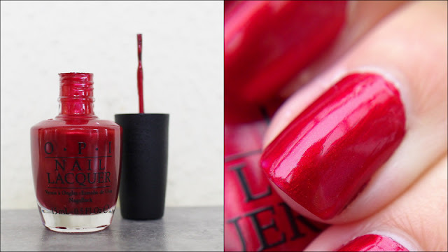 Nails OPI An Affair in Red Square