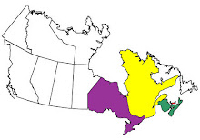 Canadian Provinces we have visited.