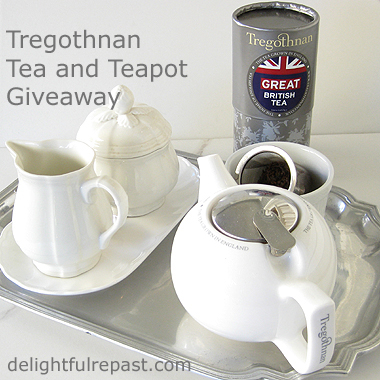 Tregothnan Tea and Teapot Review and Giveaway - And Tea Tips / www.delightfulrepast.com
