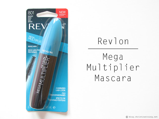 Revlon Mega Multiplier Mascara 801 Blackest Black Review
