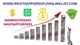 Business&Finance WhatsApp Group Join Link List