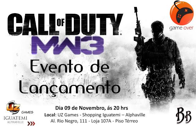 Game Over: Evento de Lancamento do jogo Call of Duty MW3. 7