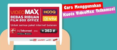 Cara menggunakan kuota videomax telkomsel untuk browsing, internatan, youtube di PC / Laptop