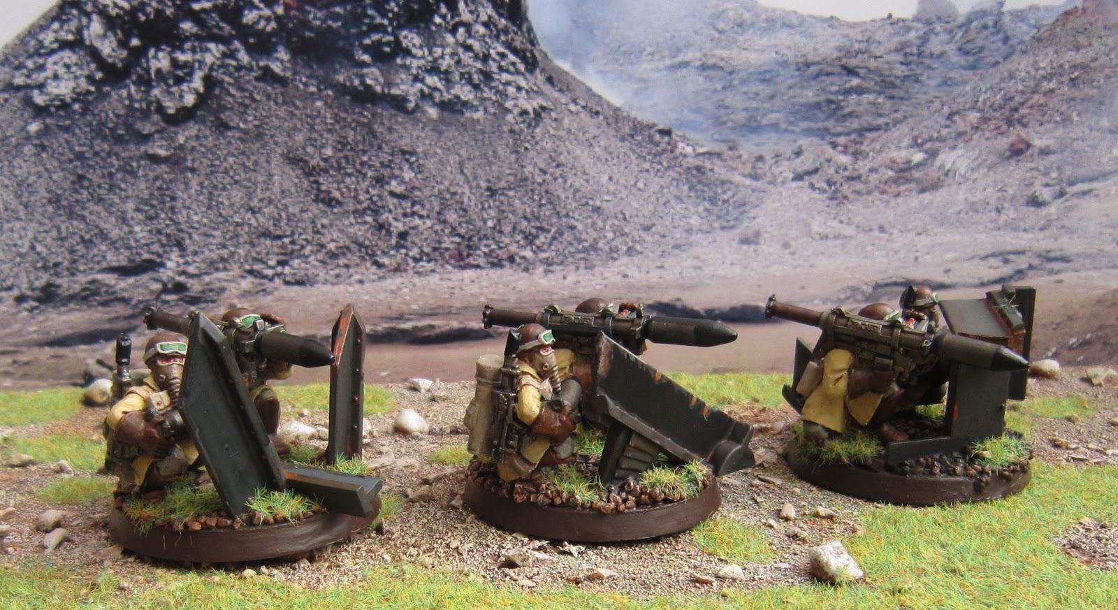 Artificer's Workshop Visions: Steel Legion Missile ...