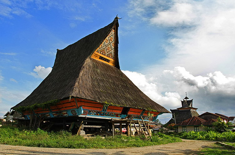 Rumah Bolon Batak Toba Traditional Architecture Of Indonesia - The Fact Of Indonesia