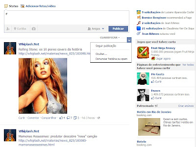 bloquear spam facebook