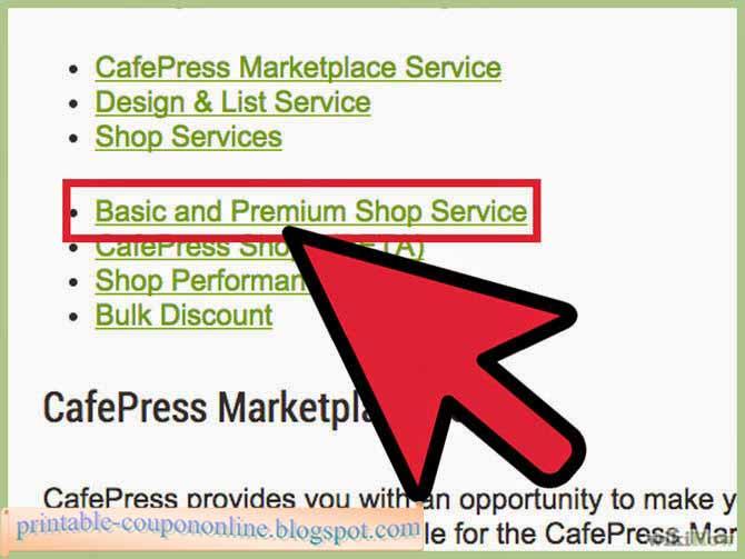 cafepress ca coupon code