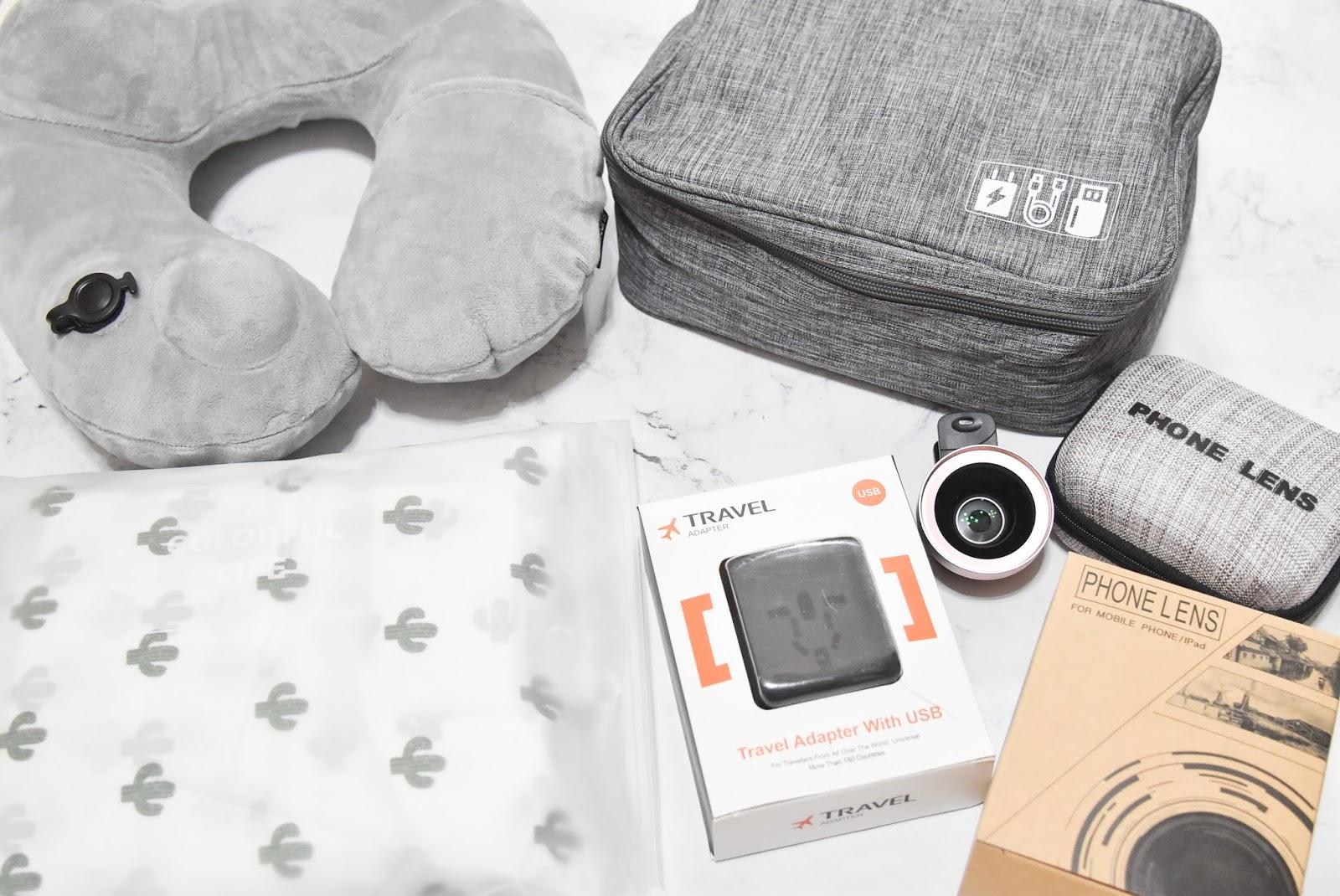 帶著完成「好旅行」—5樣旅行好物推薦,收納頸枕、手機廣角鏡⋯旅行用品一次搞定!