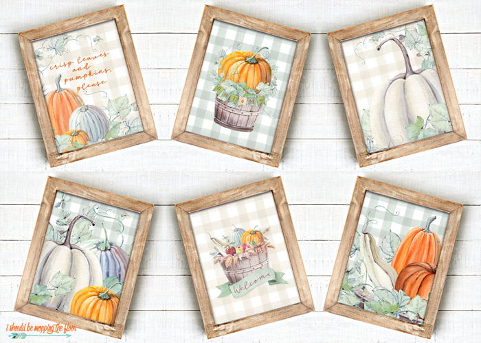 Fall Printables for Farmhouse