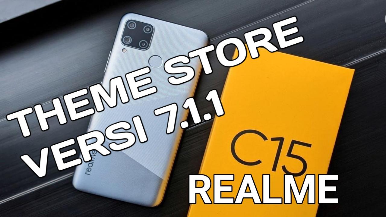 Cara Update Theme Store 7.1.1 Realme