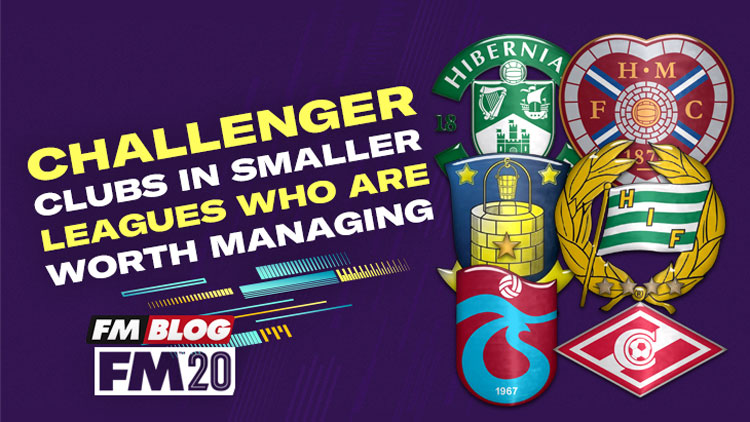 Challenger clubs in smaller leagues worth managing in Football Manager 2020