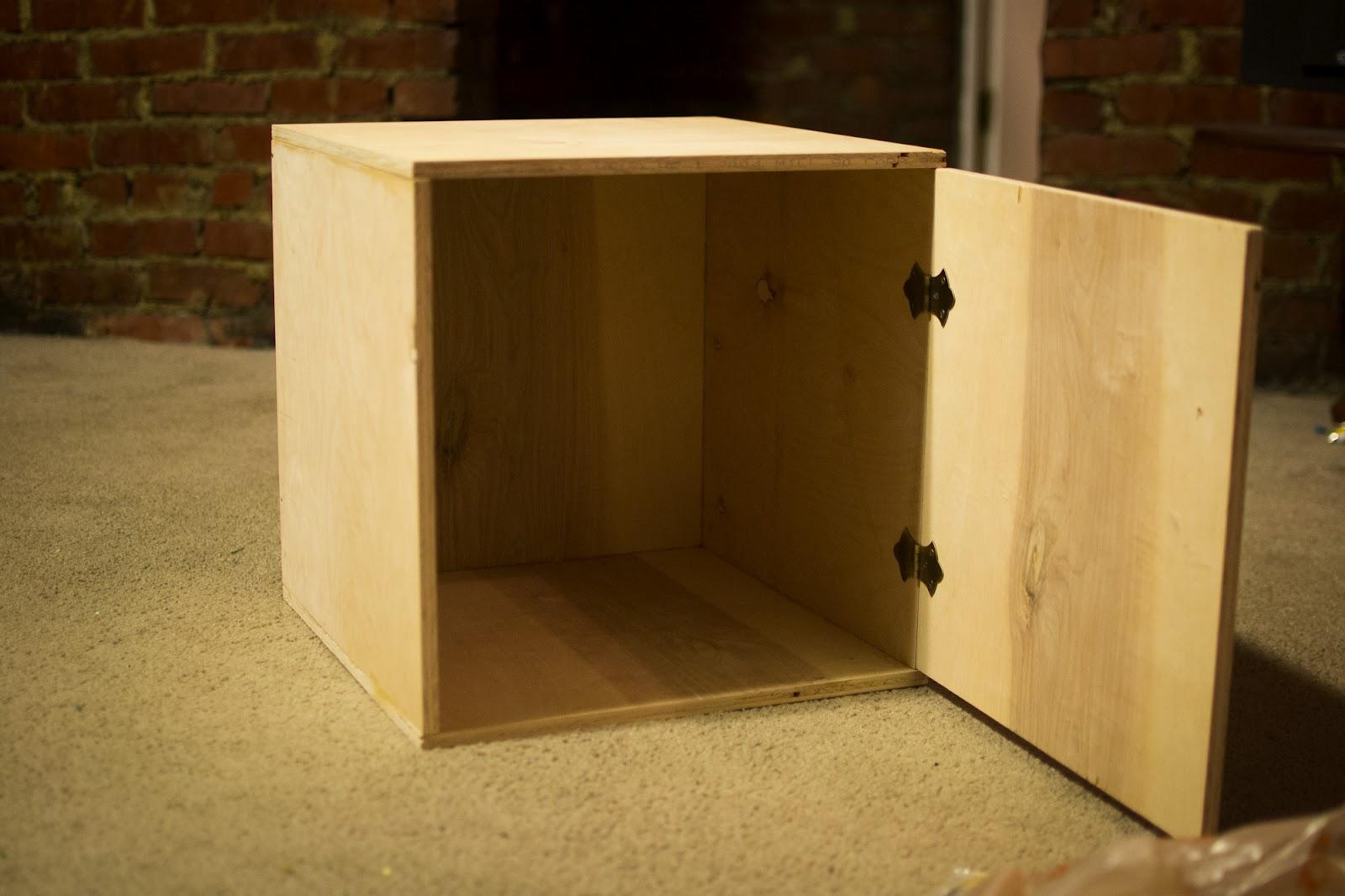 Truffles and Threads: Vinyl Record Storage Box