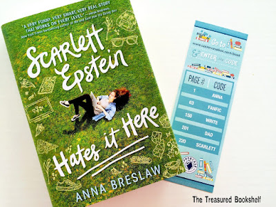 Scarlett Epstein Hates it Here by Anna Breslaw in Uppercase Subscription Box