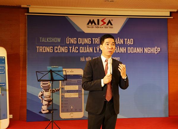 Khách mời - Diễn giả Hoàng Đình Trọng đã có những chia sẻ hữu ích giúp các Giám đốc/ quản lý doanh nghiệp hiểu hơn về 5 giai đoạn phát triển của 1 doanh nghiệp.