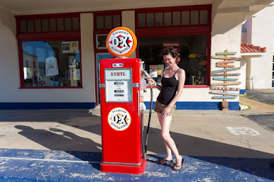 Gas station Atton Route 66 Oklahoma_by_Laurence Norah