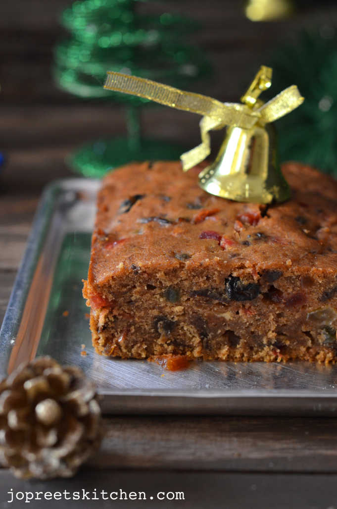 Eggless Fruit Cake Recipe Sanjeev Kapoor