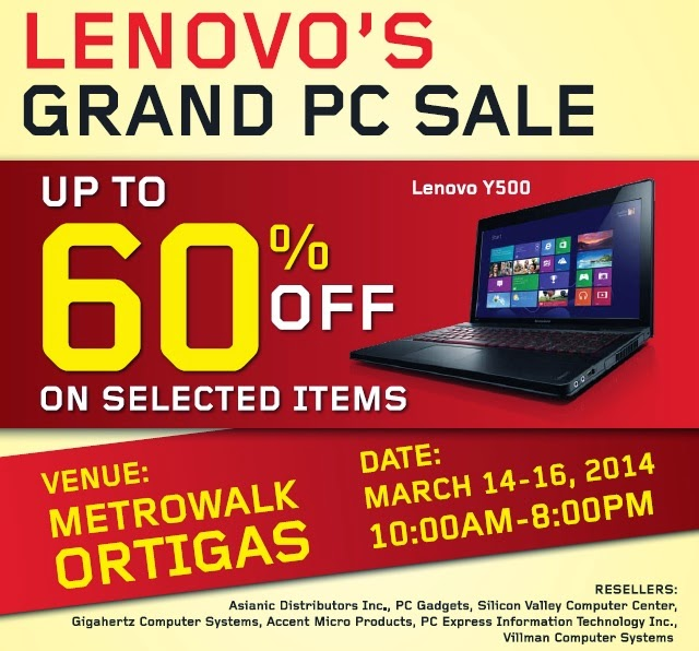 Lenovo Grand PC Sale
