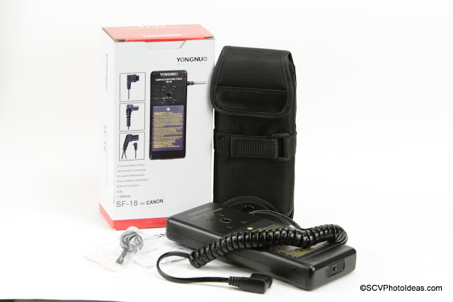YongNuo SF-18 External Battery Pack for Canon