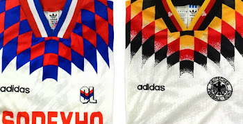 c3c39a9ba Most Iconic Jersey Design Ever? Closer Look | Adidas 1994 Kit Template