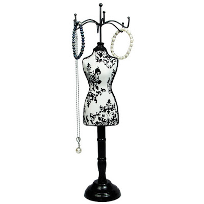 Shop Nile Corp Wholesale Fabric Covered Mini Mannequin Jewelry Display