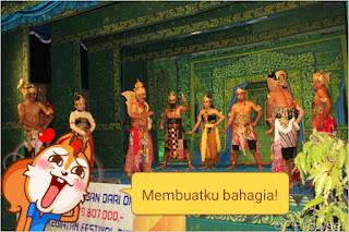 Peringati HUT RI ke 73 Warga Gesikan Gantiwarno Gelar Festival Budaya