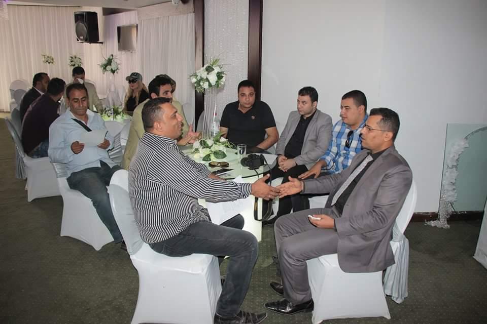 بالصور إجتماع الجمعية العمومية لنقابة الاعلاميين