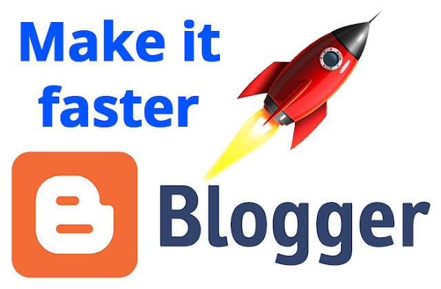 How to Speed ​​Up Blogger Blog Rocketly
