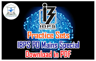 Practice Sets on Reasoning Puzzles – (Circular-Row-Straight Line-Floor) | IBPS PO Mains Spl – Download in PDF