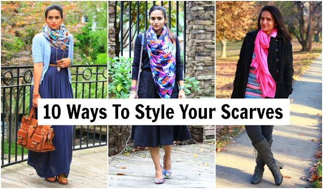 Scarves, Fall, Trends, CleverGirls, Tanvii.com, eBay