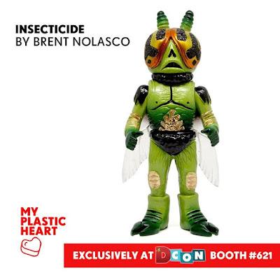 Designer Con 2017 Exclusive Insecticide Resin Figure by Brent Nolasco x myplasticheart