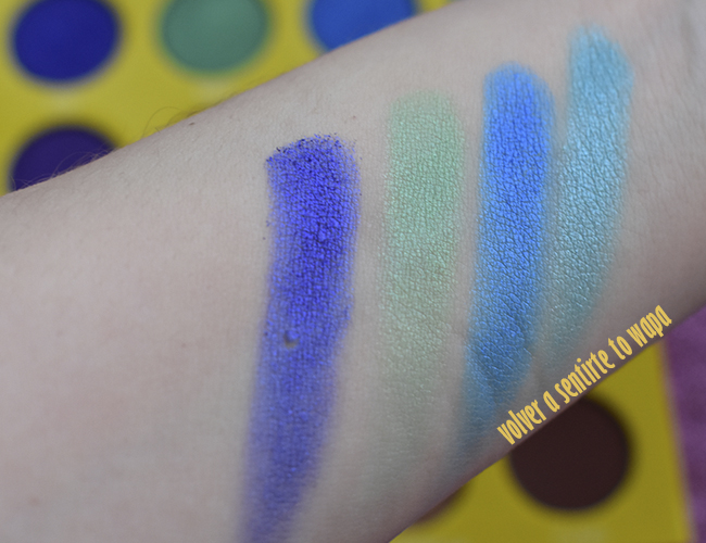 The Masquerade Mini de Juvia's Place - review & swatches