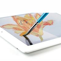 Un pinceau pour tablette tactile qui permet de faire de vrai tableau.