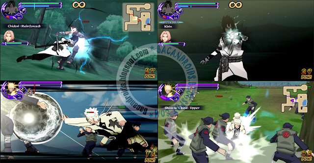 Download Naruto Shippuden Ultimate Ninja Impact NSUNI Iso Mod Rikudo Mode For PPSSPP