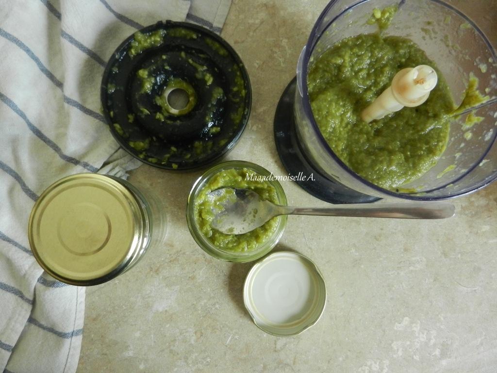 maaademoiselle a recette de petit pot pour b b pur e de haricots verts. Black Bedroom Furniture Sets. Home Design Ideas