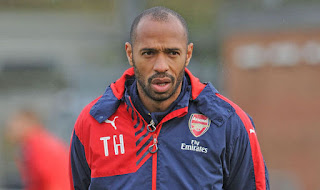 Amazing Skill By Thierry Henry In Training Makes Fans Bow