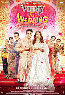 Veerey Ki Wedding (2018) Hindi Movie HDTVRip | 720p | 480p