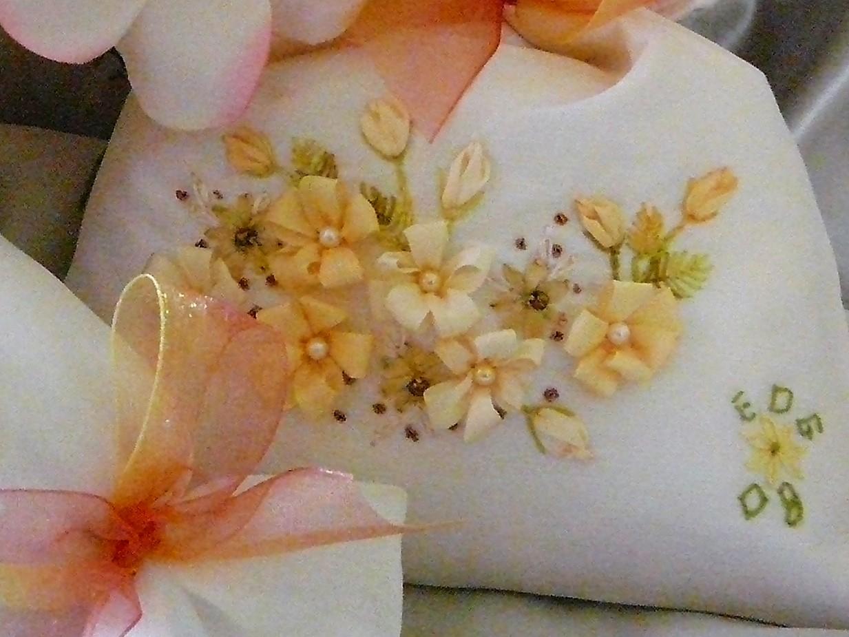 Silk Ribbon Embroidery Silk Ribbon Embroidery Tutorial Loop Flower
