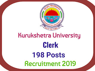 Kurukshetra University Clerk Recruitment 2019, Kurukshetra University Clerk Recruitment 2019, Career in Kurukshetra University, Kurukshetra University recruitment 2019, Kurukshetra University jobs, Kurukshetra University vacancy 2019, clerk vacancy,