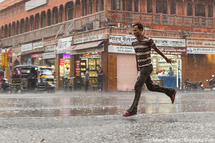 Jaipur Weather, Shower of Relief.