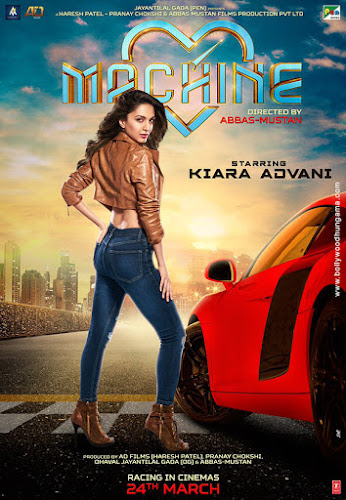 Machine (2017) Movie Poster