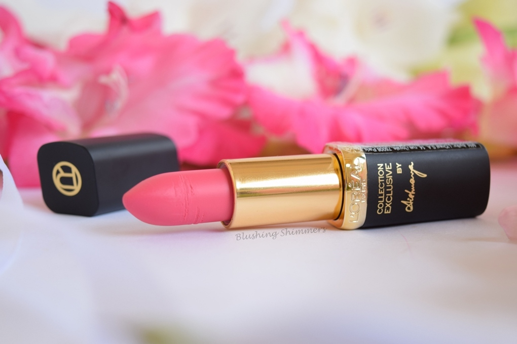 L'Oreal Paris Color Riche pink collection Lipstick : Aishwarya's shade